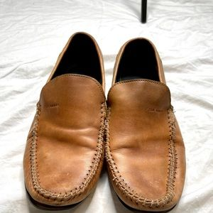 Ted Baker cognac leather loafers